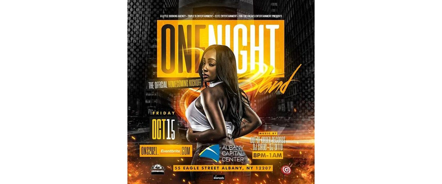 One Night Stand: Official Homecoming Kickoff Party!